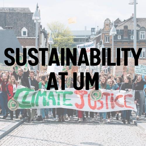 Sustainability at UM